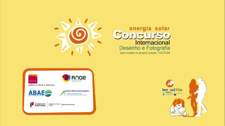 Concurso Internacional de Desenho e Fotografia | Energia Solar 10 Action