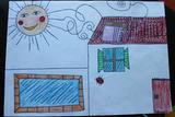 Casa com painel solar | Catarina Isabel Ferreira Martins - 8 anos (Externato Adventista do Funchal, Funchal)