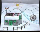 Energia eólica, solar e hídrica | Nádia Sofia Velosa Aguiar - 5 anos (Externato Adventista do Funchal, Funchal)