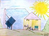 É importante utilizar a energia solar | David Marques Martins 8ANOS-3ºano (Escola EB1/JI da Charneca, Guimarães)