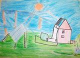 Energia Solar | Margarida Cordeiro Anjo 8anos-3ºano (Escola EB1/JI da Charneca, Guimarães)
