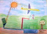 Precisamos de energia solar | Diogo Gabriel Ribeiro Ferreira 8 anos-3ºano (Escola EB1/JI da Charneca, Guimarães)