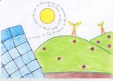 A energia do sol | Mariana Pires Fortuna - 10 anos (Agrup. de Escolas Cidade de Castelo Branco, Castelo Branco)