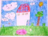 A energia solar faz-nos felizes | Filipa Antunes - 7 anos (Escola EBI Infante D. Pedro - Agrup., Penela)