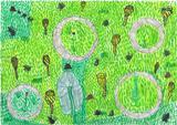 o jardim solar | Andreia Fernandes Silva, 9 anos (Escola EBI Infante D. Pedro - Agrup., Penela)