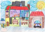 A ajuda do sol | Maria Inês Pinto Rodrigues, 9 anos (Escola EBI Infante D. Pedro - Agrup., Penela)