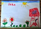 Energia Solar 1 | Sara Ferreira, 5 anos (Escola EB 2,3 de Celeirós, Braga)
